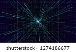 3d abstract technology... | Shutterstock . vector #1274186677