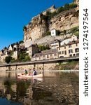 beynac et cazenac  france  ...   Shutterstock . vector #1274197564