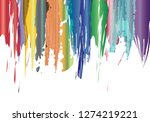 colorful grunge background   Shutterstock . vector #1274219221