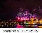 night photo of new year... | Shutterstock . vector #1274224327