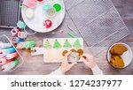 flat lay. step by step.... | Shutterstock . vector #1274237977