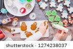 flat lay. step by step.... | Shutterstock . vector #1274238037