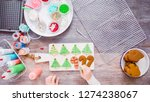 flat lay. step by step.... | Shutterstock . vector #1274238067