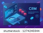 customer relationship... | Shutterstock .eps vector #1274240344