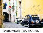 salerno  italy  may 2015  ... | Shutterstock . vector #1274278237