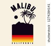 Malibu T Shirt Graphic