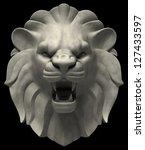 Lion\'s Head. Artistic Lion Hea...