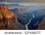 sunset at toroweap  grand... | Shutterstock . vector #127438277