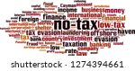 no tax word cloud concept.... | Shutterstock .eps vector #1274394661