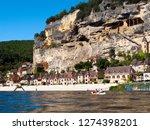 la roque gageac  france   24th...   Shutterstock . vector #1274398201