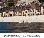 la roque gageac  france   24th...   Shutterstock . vector #1274398207