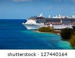 Cruise Ship Entering Port Of...