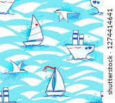 Modern With Ship For Print...