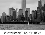 distant view of new york... | Shutterstock . vector #1274428597