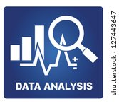 data analysis | Shutterstock .eps vector #127443647