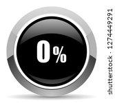 0 percent vector steel icon.... | Shutterstock .eps vector #1274449291