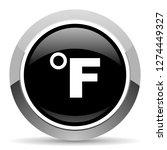 fahrenheit vector steel icon.... | Shutterstock .eps vector #1274449327