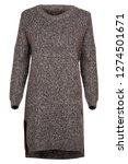 grey female dress   Shutterstock . vector #1274501671