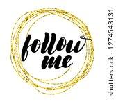 inspirational lettering... | Shutterstock .eps vector #1274543131