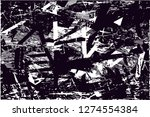 distressed background in black... | Shutterstock . vector #1274554384