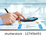 accounting. | Shutterstock . vector #127456451