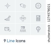 commercial icon set and...
