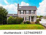 Traditional American House In...
