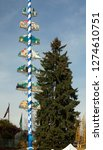 maypole german town leavenworth ... | Shutterstock . vector #1274610751