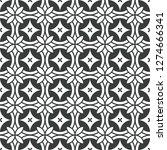 art deco batik seamless pattern ... | Shutterstock .eps vector #1274666341