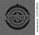 variation dark icon or emblem | Shutterstock .eps vector #1274738554