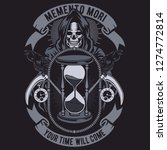 Memento Mori Tshirt Design