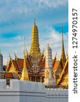 grand palace and wat phra keaw... | Shutterstock . vector #1274970157