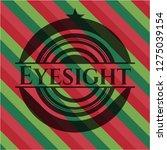 eyesight christmas emblem... | Shutterstock .eps vector #1275039154