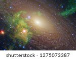 nebulae an interstellar cloud... | Shutterstock . vector #1275073387