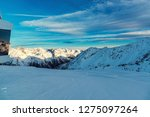 view of the alpine mountains in ... | Shutterstock . vector #1275097264