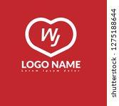 letter wj logo concept....