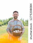 smiling mid adult farmer...   Shutterstock . vector #1275208084