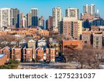 chicago skyline scene in the... | Shutterstock . vector #1275231037