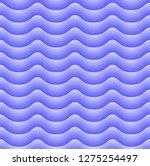 wavy  background  seamless... | Shutterstock .eps vector #1275254497