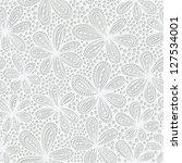 elegant seamless floral pattern.... | Shutterstock .eps vector #127534001