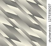 seamless diagonal line... | Shutterstock .eps vector #1275358207