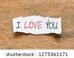 i love you   Shutterstock . vector #1275361171