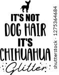 it's not dog hair  it's...   Shutterstock .eps vector #1275364684