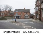 Empty stores in Repton, Derbyshire, UK