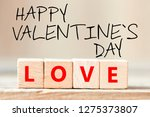 happy valentine s day   Shutterstock . vector #1275373807