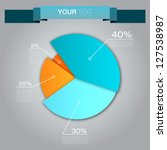 colorful business pie chart for ...