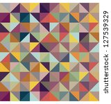 colorful geometric pattern.... | Shutterstock . vector #127539329