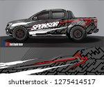 truck wrap design vector....   Shutterstock .eps vector #1275414517