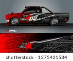 car wrap design vector  truck...
