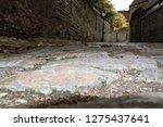 cobbled alleyway in oxford  uk. ...   Shutterstock . vector #1275437641